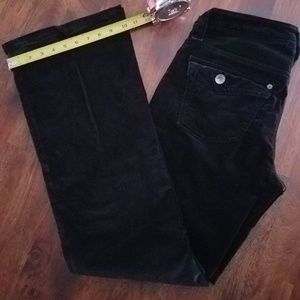 Gap Black Velvet Jeans